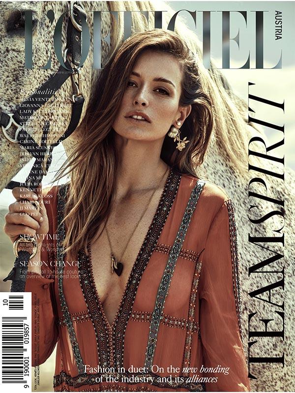 MaierAgency-LOFFICIELAustria- FLavia-Cover